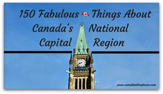 Canada's National Capital Region, encompassing the cities of Ottawa, Ontario and Gatineau, Quebec (and their surrounding rural areas), is a vibrant region full of world-class attractions and …