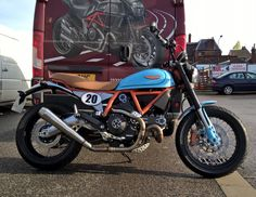 Gulf Scrambler reporting for duty! Vote for our #customrumble entry on the official @customrumble page :) smcbikes.com #scrambleryouare #landofjoy #Scramblerducati #ducati #custombike #smcbikes @ducatiuk http://ift.tt/1Mo9pJI
