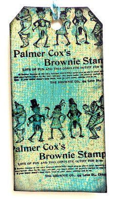Brownie stamp set vintage advertisement / Unmounted by MAKIstamps