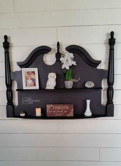Headboard Wall Shelf