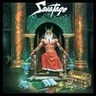 """Hall of the Mountain King"" is the fourth studio album by heavy metal band 'Savatage'. It is their first album produced by O'Neill. Black Sabbath, Iron Maiden, Musica Disco, Pochette Album, Metal Albums, World Of Fantasy, Fantasy Art, Power Metal, White Witch"