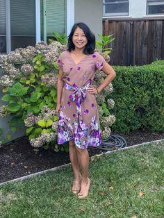 New Sewing Pattern: Petaluma Faux Wrap Dress - Itch To Stitch I Dress, Strapless Dress, Summer Wedding Outfits, Dress Sewing Patterns, Sewing For Beginners, Faux Wrap Dress, Dresses For Work, Wrap Dresses, Stitch