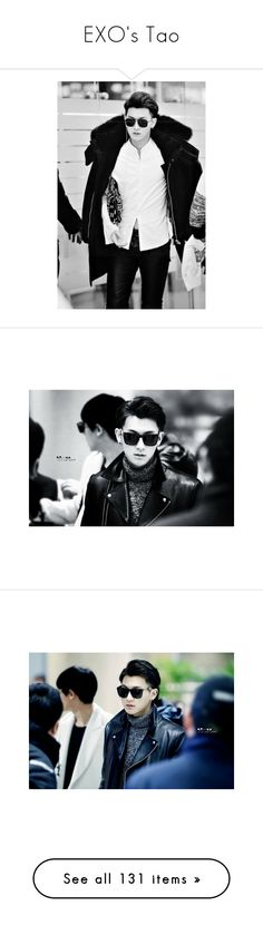 """EXO's Tao"" by savvy810 ❤ liked on Polyvore featuring exo, tao, kpop, zitao, k-pop and people"