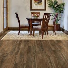 Great TrafficMASTER Allure Ultra Wide 8.7 In. X 47.6 In. Southern Hickory Luxury  Vinyl Plank Flooring (20.06 Sq. Ft. / Case)