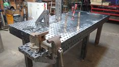 Welding Table, M16, Sustainable Forestry, Ping Pong Table, Conception, Digital, Outdoor Decor, Diy Table, Dimensions