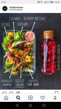 Keto Delivered - Artisan Goodies for Keto Foodies ketogenic nutrition plan - Delivery Food - Ideas of Delivery Food - lettuce avocado cucumber mango grilled chicken Healthy Food Delivery, Healthy Meal Prep, Healthy Snacks, Healthy Eating, Healthy Recipes, Delivery Food, Healthy Drinks, Lunch Recipes, Meal Delivery Service