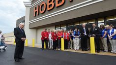 Hobby Lobby holds grand opening at Mountain Home!!! XD