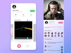 50 User profile page — Design Inspiration | by Muzli | Muzli - Design Inspiration Profile App, Profile Website, Moodboard App, Page Design, Web Design, Ui Web, User Interface Design, Profile Design, Design Inspiration