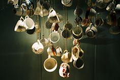 handing tea cups