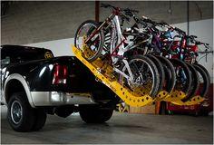 Tuf Rack indestructible bike racks - 8 deep!