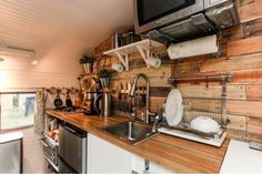 Image result for rustic rv makeover