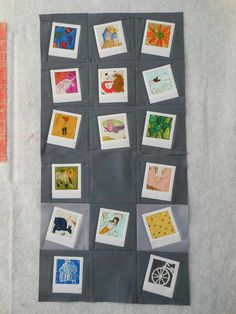 I love this idea of creating a polaroid quilt!    F+F=AMSB July blocks for Nicole by capitolaquilter, via Flickr