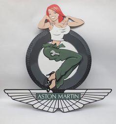Tony Upson, 'Aston Martin Mechanic Girl',