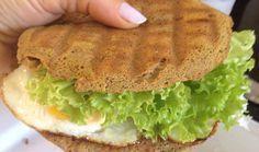 Receita ridiculamente simples de Pão de Forma 'low carb' (com 2 ingredientes)   SOS Solteiros