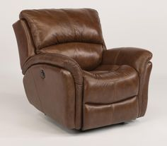 Latitudes - Dominique Glider Recliner with Power by Flexsteel