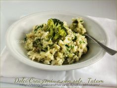 Risotto con broccoli