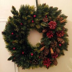 Beautiful Christmas wreath! Exclusive!