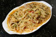 Buena cocina mediterranea: Fideos con costillas