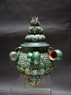 Hilario Alejos Madrigal Green Pineapple Ponchera Pottery Ideas, Pottery Art, Pineapple Art, Mexican Ceramics, Native American Pottery, Hilario, Mexican Art, Handmade Art, Great Artists