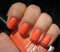 Sally Hansen Snappy Sorbet! My nails are this color now