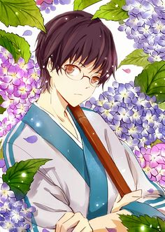 Shinpachi from Gintama Manga Art, Manga Anime, Anime Art, Anime Boys, Otaku Mode, Anime Group, Okikagu, Another Anime, Toddler Girls