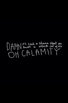 Oh Calamity - All Time Low