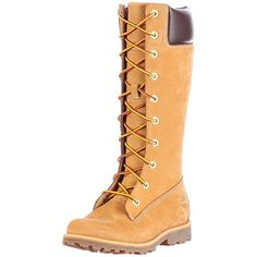 Timberland Asphalt Trail FTK_Girls Classic Tall Lace Up with Side Zip Mädchen Combat Boots, Gelb (Wheat Nubuck), EU 32 (US - Timberland schuhe (*Partner-Link) Timberland Classic, Timberland Boots, Timberlands Women, Timberlands Shoes, Tall Boots, Combat Boots, Lace Up, Brand New, Unisex