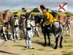 Spanish Regiment of Foot in Minorca, Seven Years War