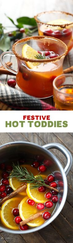 Warm your soul with a homemade hot toddy! This adult beverage mixes cinnamon whisky with apple cider and citrus for a delicious winter drink!