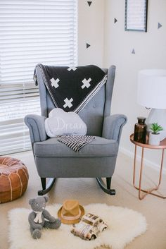 This handcrafted kit will convert the beautiful IKEA Strandmon wingback armchair into a delightfully cosy, stylish and affordable rocking chair. The rocking chair features:- a wingback desi...