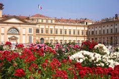 Italian Villas: Villa Reale di Monza, Lombardia, Italy