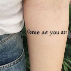 Tattoo Ink | Pinterest: heymercedes A beautiful song with such a loud message that the simplicity of this is perfect :)