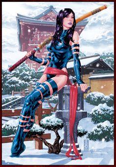 X-Men: Psylocke by Mark Brooks