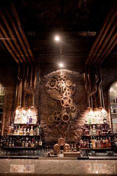 Victoria Brown Bar & Restuarant, Buenos Aires / Argentine - hitzig militello arquitectos Photo©: Andres Martellini