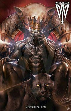 Black Panther, King of Wakanda by Wizyakuza
