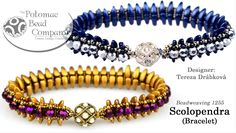 How to make the Scolopendra bracelet (Bead Weaving Tutorial)