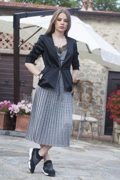 Xenia Tchoumitcheva from @queenxenia with #ShineBabyShine #Pitti #Firenze #MyPINKOExperience #PINKO