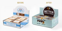 Before & After: Better Together — The Dieline - Branding & Packaging…