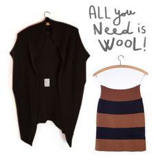 Oversize Top+Skinny skirt, check out the Xmas page / www.sartoriavico.it #allyouneediswool #knitwear #specialprice #xmas