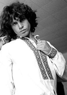 Jim Morrison  an extremely handsome guy, but a true talent wasted.