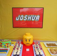 Lego Birthday Party Ideas | Photo 2 of 37 | Catch My Party