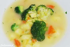 #Brokuly są pyszne nawet w #zupie.