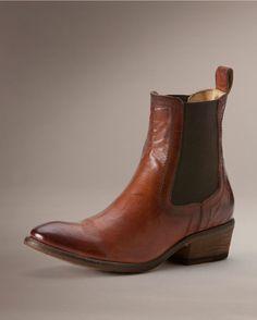 FRYE Women's Carson Chelsea Ankle Boot,Cognac,7 M US | Boots ...