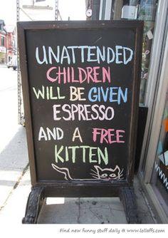 That'll get a parent's attention!