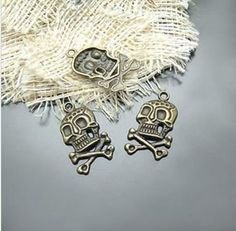50pcs Alloy Fashion Jewelry components and findings by aliyafang, $9.99