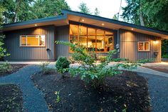Crescent Beach Renovation - contemporary - exterior - vancouver - My House Design Build Team Home Exterior Makeover, Exterior Remodel, 1970s House, Mid Century Exterior, Modern Exterior, Old Houses, Modern Houses, Tiny Houses, The Ranch