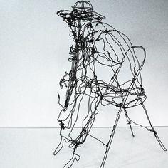 Martin Senn - Wire sculpture -