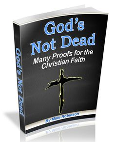 """don't miss my new apologetics essay """"God's Not Dead: Evidence and Proof"""""""