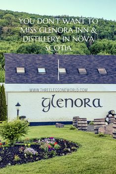 Did you know that Nova Scotia is home to North America's first single malt whisky distillery? Well, it is! East Coast Canada, Single Malt Whisky, Nova Scotia, Distillery, New England, Did You Know, North America, Canning, Outdoor Decor