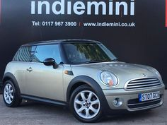 Stunning 07' plate Mini Cooper in sparkling silver!  Only 3500  Please see our website for our wide selection of Minis over 40 in stock!   www.indiemini.co.uk  Or pop into our showroom! #minicarsbristol